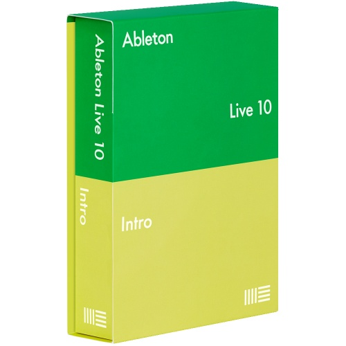 Ableton Live 10 Intro Software (Boxed)