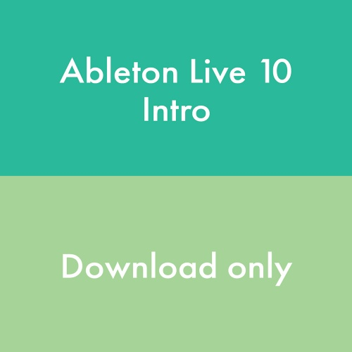 Ableton Live 10 Intro Software (Download) Free Upgrade to Live 11 Upon Release