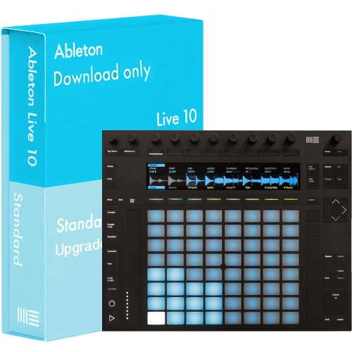 Ableton Push 2 Music Production Controller + Ableton Live 10 Standard (Download)