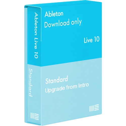 Ableton Live 10 Standard Software, Upgrade From Intro (Download) Free Upgrade to Live 11 Upon Release