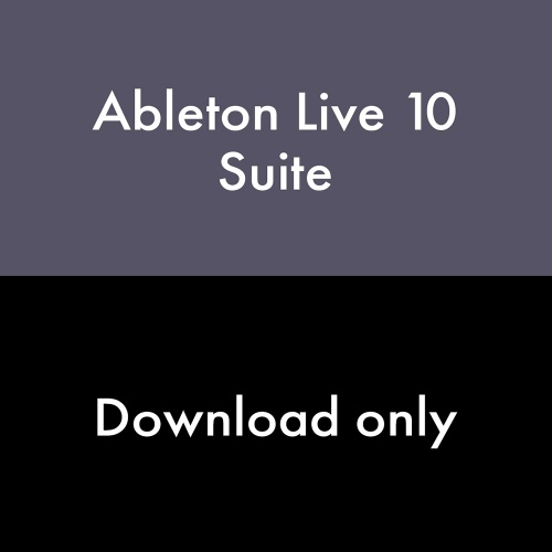 Ableton Live 10 Suite Software (Download) Free Upgrade to Live 11 Upon Release