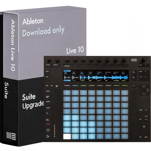 Ableton Push 2 Music Production Controller + Ableton Live 10 Suite (Download)