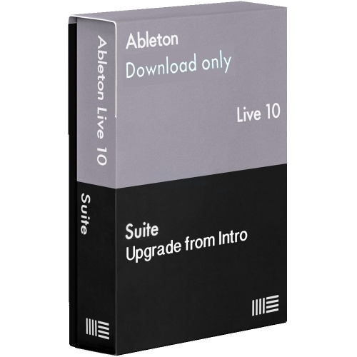 Ableton Live 10 Suite Software, Upgrade From Intro (Download)