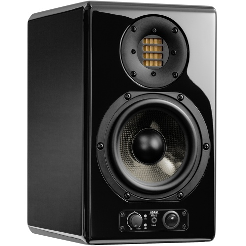 Adam Audio ARTist 5 Active Studio Monitor, Glossy Black (Single)