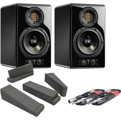 Adam Audio ARTist 5 Active Studio Monitors + Iso Pads + Leads Bundle