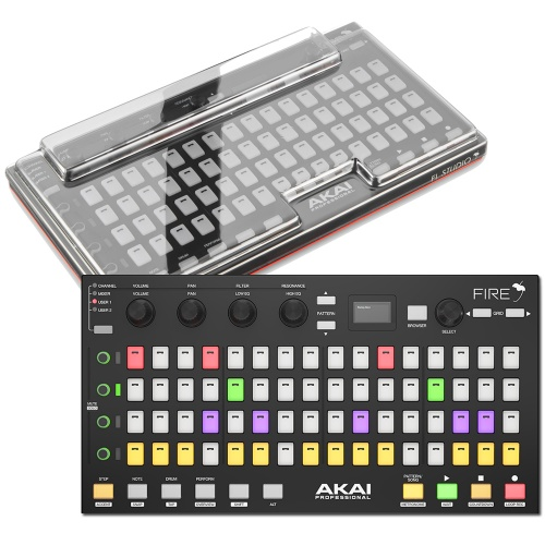 Akai Fire, Control Surface For FL Studio + Decksaver Bundle Deal
