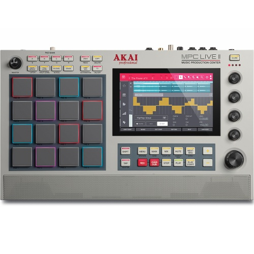 Akai MPC Live 2 Retro Edition, Standalone Production Centre With Built-In Monitors