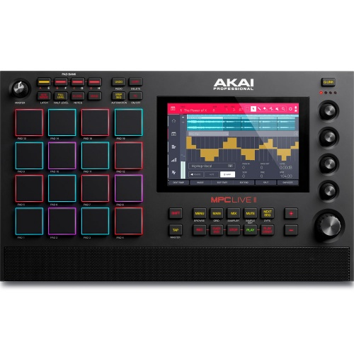 Akai MPC Live 2, Standalone Production Centre With Built-In Monitors