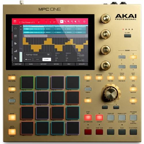 Akai MPC ONE Gold, Standalone Music Production Centre, Limited Edition