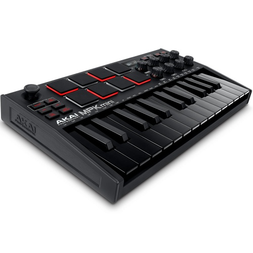 Akai MPK Mini MK3, MIDI Controller Keyboard, Black Edition