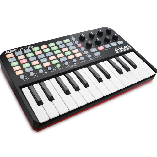 Akai APC Key 25 Keyboard Controller for Ableton Live Lite