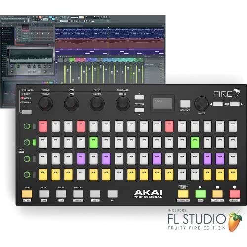 Akai Fire, Performance Controller For FL Studio (Software Included)