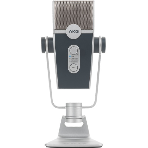 AKG Lyra, Ultra-HD USB Microphone For Podcasts & YouTube Streaming