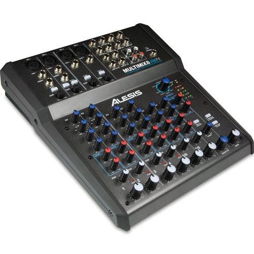 Alesis Multimix 8 USB FX - 8 Channel Mixer with Effects