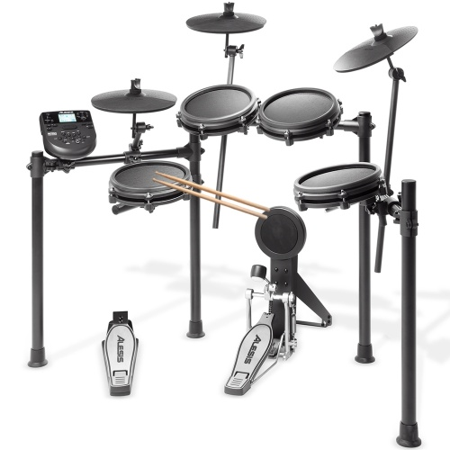 Alesis Nitro-MESH 8 Piece Electronic Drum Kit, Inc. Sticks & Pedals