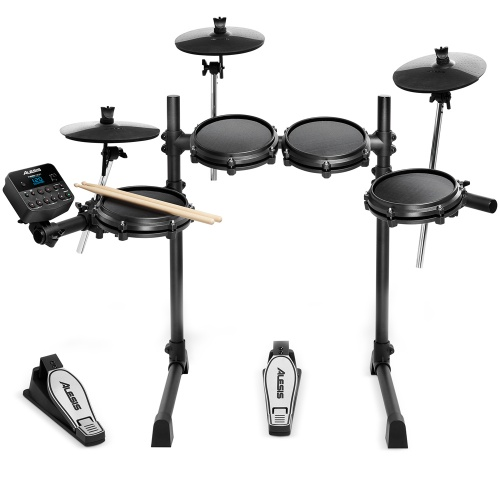Alesis Turbo Mesh 7 Piece Electronic Drum Kit, Inc. Sticks & Pedals