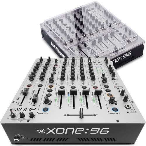 Allen & Heath Xone 96, Pro Analogue DJ Mixer + Decksaver Bundle
