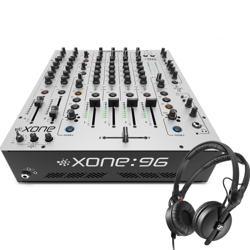 Allen & Heath Xone 96 Mixer + Sennheiser HD25 Headphones Bundle Deal