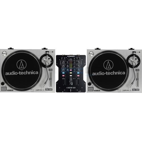 ​Allen & Heath Xone 23 Mixer + AT-LP120-USB Direct Drive Turntables Deal