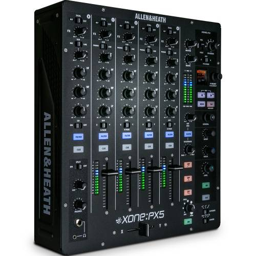 Allen and Heath Xone PX5 Analogue DJ Mixer + Soundcard & FX
