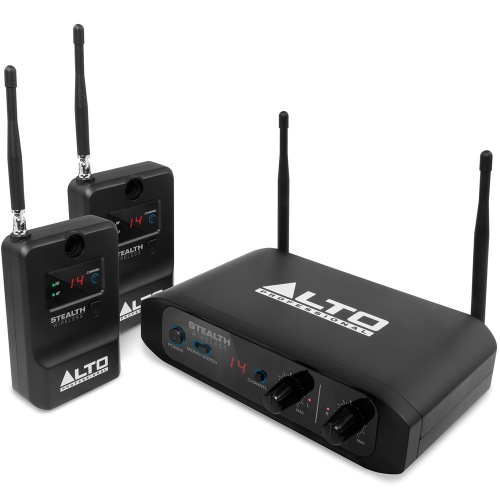 Alto Stealth Wireless, 2-Channel Wireless System For Loudspeakers