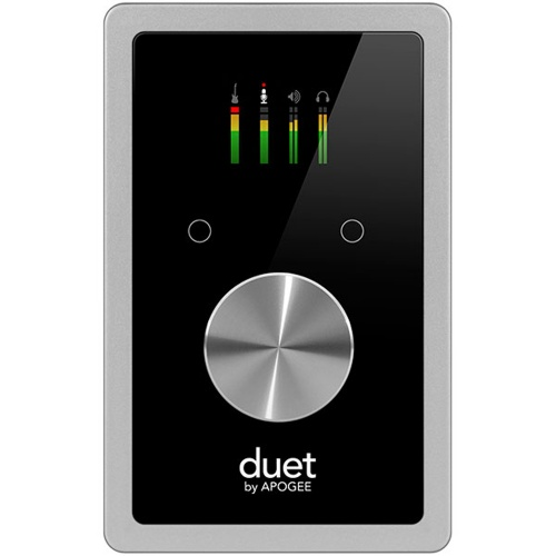 Apogee Duet, 2 In / 4 Out Audio Interface For Mac, PC & iOS