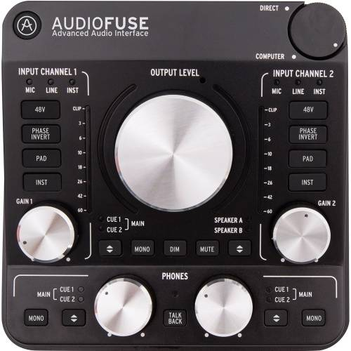 Arturia AudioFuse, Deep Black, USB Audio Interface