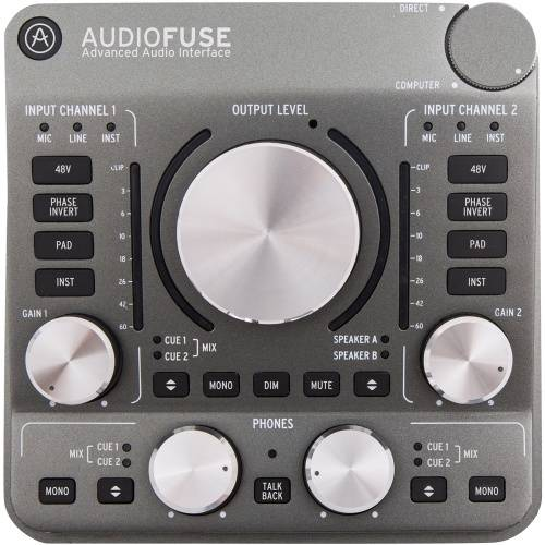 Arturia AudioFuse, Space Grey, USB Audio Interface