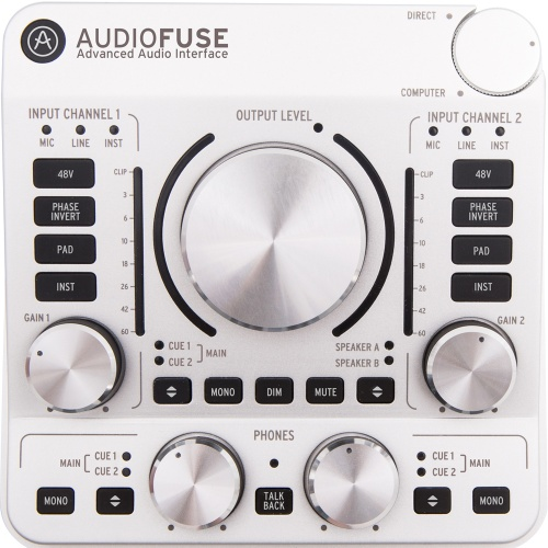 Arturia AudioFuse, Classic Silver, USB Audio Interface