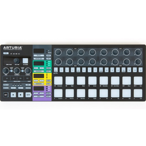 Arturia Beatstep Pro Black Edition, Controller & Performance Sequencer