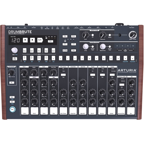 Arturia DrumBrute Analogue Drum Machine and Sequencer