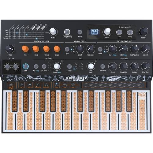 Arturia MicroFreak, Paraphonic Hybrid Analogue Digital Synthesizer