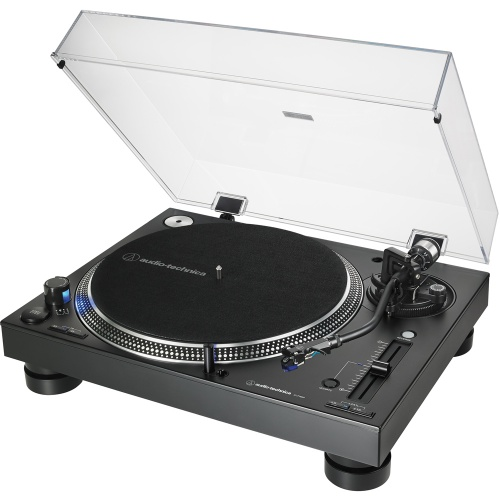 Audio Technica AT-LP140XP Black, Direct Drive DJ Turntable (Single)