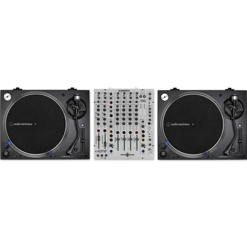 Audio Technica AT-LP140XP Black (Pair) + Allen & Heath Xone 96 Bundle