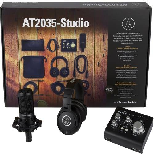 Audio Technica AT2035-Studio, Recording Studio Kit