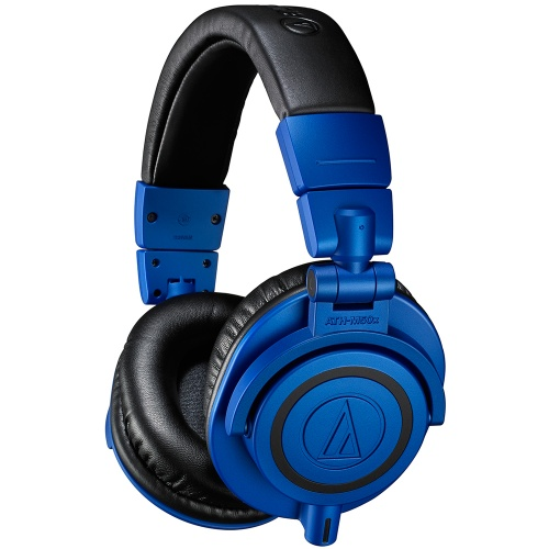 Audio Technica ATH-M50XBB, Black & Blue Studio Headphones
