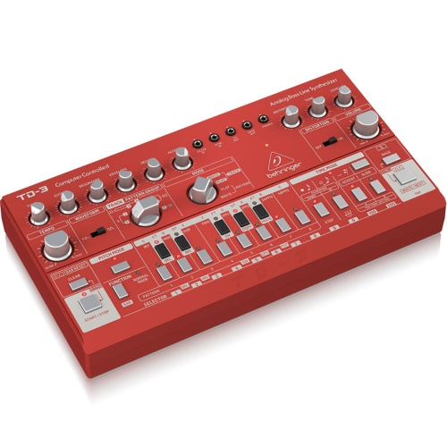 Behringer TD-3 Red, Analogue Bassline Synthesizer