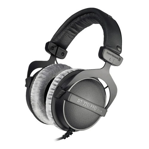 Beyerdynamic DT 770 Pro Black Closed Back Studio Headphones (80 Ohm)