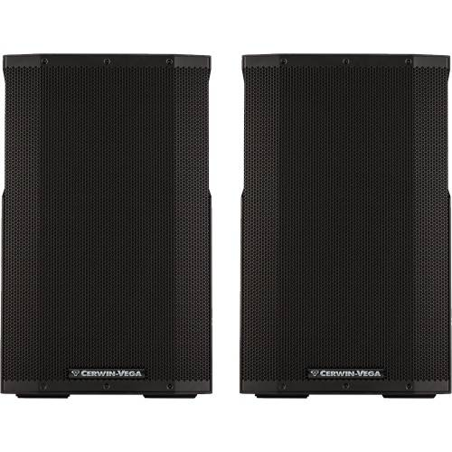 Cerwin Vega CVE-15, 1000w 15'' Active PA Speakers With Bluetooth (Pair)