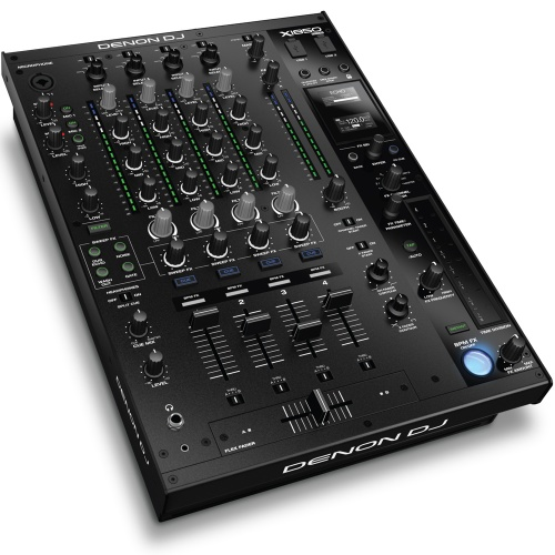 Denon X1850 Prime, Professional 4-Channel DJ Club Mixer
