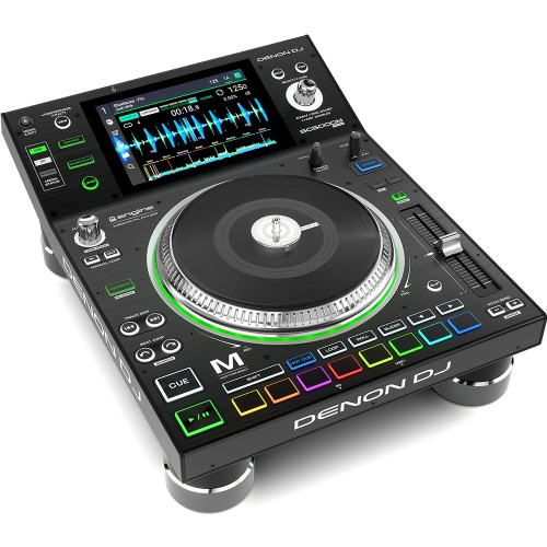Denon SC5000M DJ Player with Motorised Platter + Touchscreen (Single)
