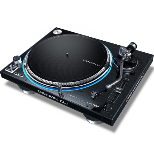 Denon VL12 Direct Drive Turntable With True Quartz Lock (Single)