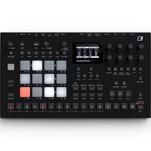 Elektron Analog Rytm MKII, Drum Machine & Sampler (Black Finish)