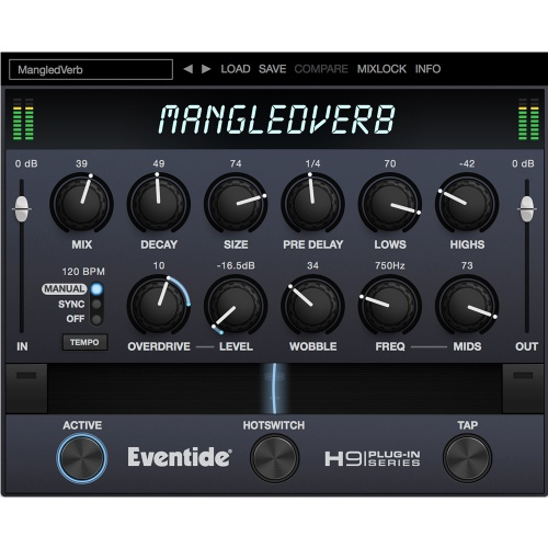 Eventide MangledVerb, Reverb + Distortion Plugin (Download)