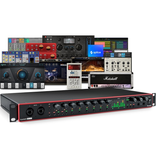 Focusrite Scarlett 18i20 (G3) USB Audio Interface + Free Plugin Bundle