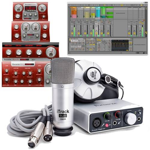 Focusrite iTrack Studio Lightning Recording Package