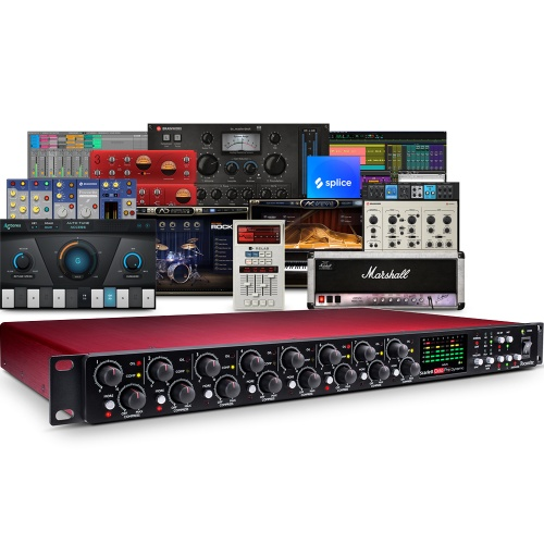 Focusrite Scarlett OctoPre Dynamic 8 Channel Mic Pre with AD/DA Conversion