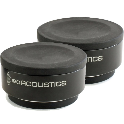 IsoAcoustics Iso-Puck, Isolation Stands For Monitors (Pack Of 2)