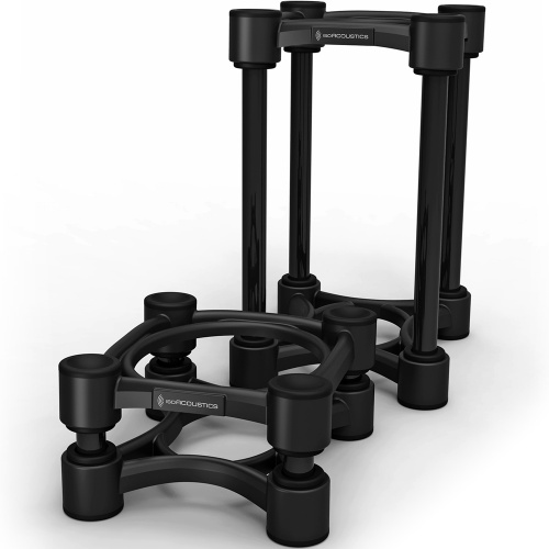IsoAcoustics ISO-130 Small Adjustable Studio Monitor Stands (Pair)