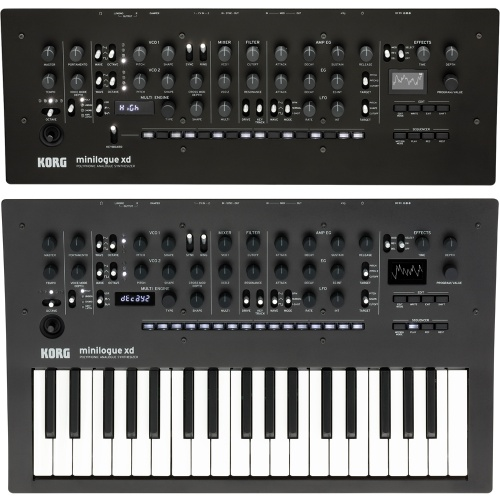 Korg Minilogue XD Keyboard & Module Bundle Deal